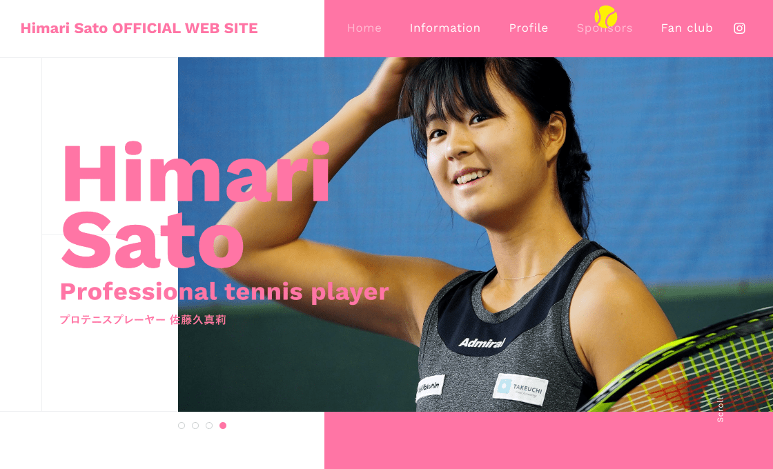 Himari Sato OFFICIAL WEB SITE